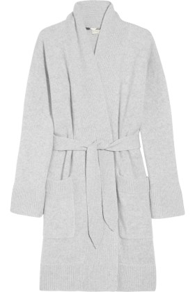 Burberry Accessories Belted Cashmere Robe.