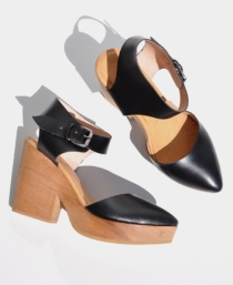 Michelle Clog by A Détacher. Available at Anaïse.