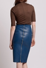 Sexy Pencil Rubber Skirt by Christina Ledang