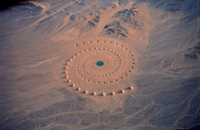 Desert Breath by Danae Stratou, Alexandra Stratou, and Stella Constantinides in the Sahara of El Gouna, Egypt.
