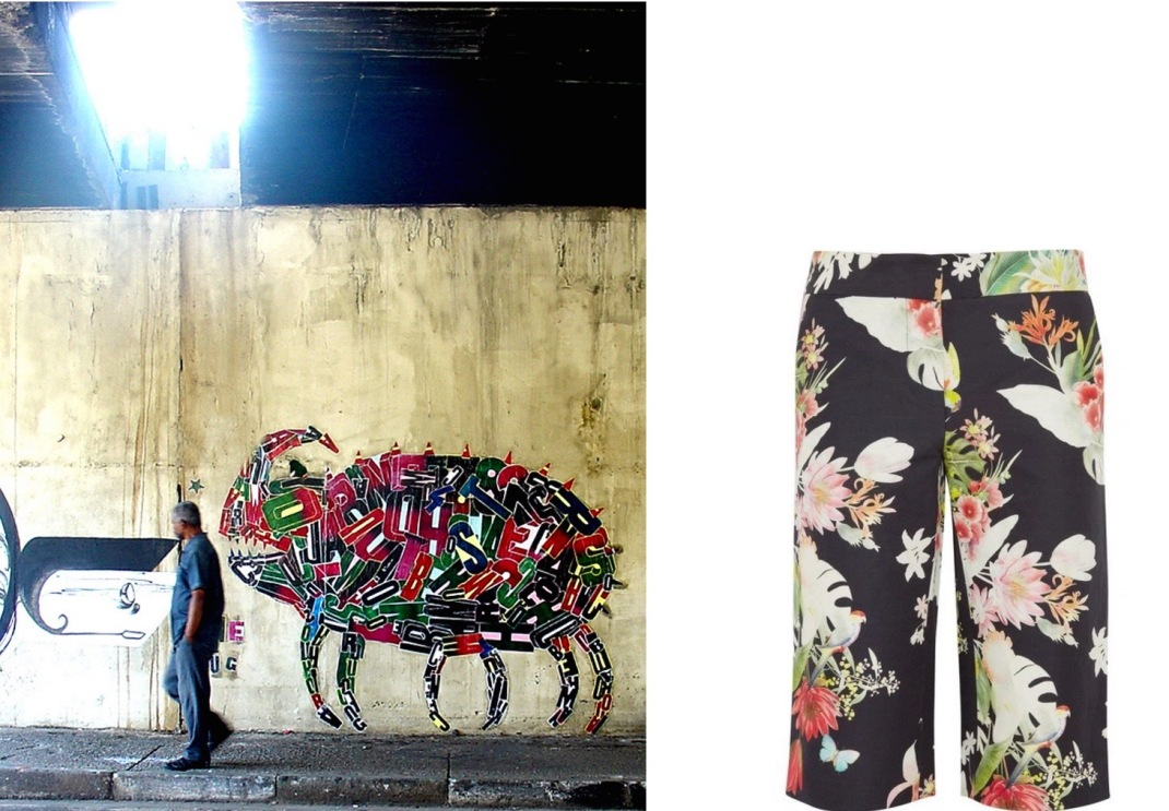 A Monster by Fefe Talavera paired with Clements Ribeiro Carioca Shorts.